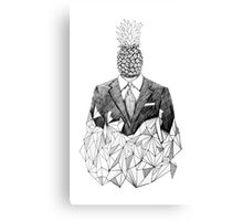 Pineapple Man Canvas Print