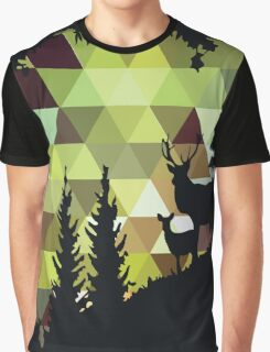 Geometric Silhouette No. 1 Graphic T-Shirt