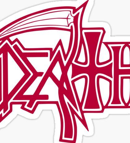 Death Logo Sticker
