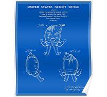 Humpty Dumpty Patent - Blueprint Poster