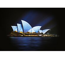 Opera in Blue Photographic Print