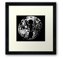 ant asteroid Framed Print
