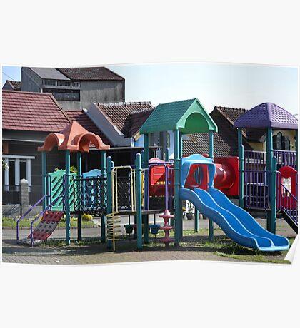 children playground Poster