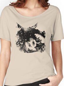 Black Boulder Class Grunge Women's Relaxed Fit T-Shirt