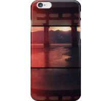 Tori gate in triptych iPhone Case/Skin