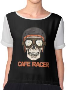 Cafe Racer Chiffon Top