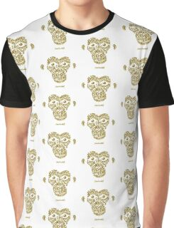 Jane Goodall monkey face Graphic T-Shirt