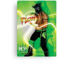 FIGHT - Lucha Riot City Wrestling series Canvas Print