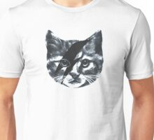 Stardust Cat face Unisex T-Shirt