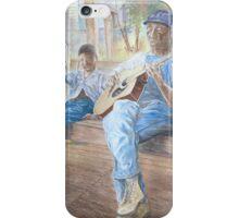 Guitar Player by Paul Sagoo iPhone Case/Skin