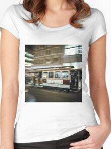 San Francisco Women's Fitted Scoop T-Shirt