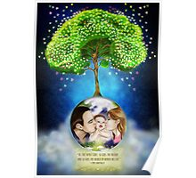 Every bright thing starts from love in a family Poster