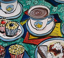 Tea for Three by Heather Holland  by Heatherian