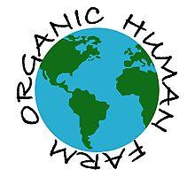 Organic Human Farm Photographic Print