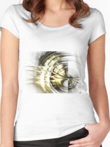 Frailty - Abstract Fractal Artwork Women's Fitted Scoop T-Shirt