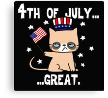 Grumpy Patriot Canvas Print