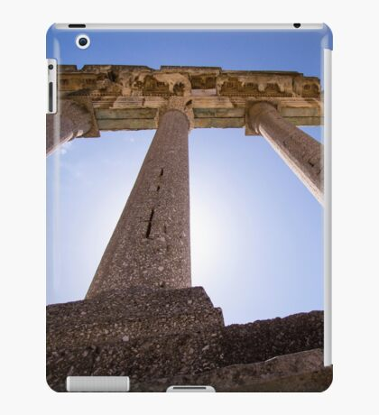 Ancient Columns - Travel Photography iPad Case/Skin