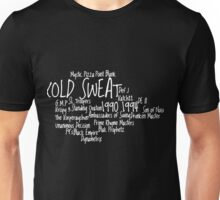 Kold Sweat records Old school UK Hip Hop [wht] Unisex T-Shirt