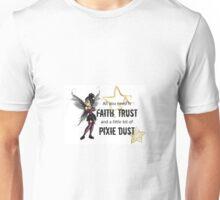 Punk Tinker bell Unisex T-Shirt