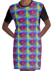 A tropical day Graphic T-Shirt Dress