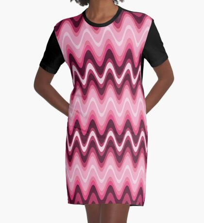 Electric Graphic T-Shirt Dress
