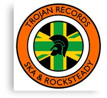 "Trojan Records 5 "" Jamaican "" Canvas Print"