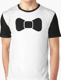 Black bow tie isolated Graphic T-Shirt