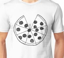Pizza Cleavage Unisex T-Shirt