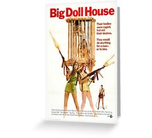 Big Doll House (Colour) Greeting Card