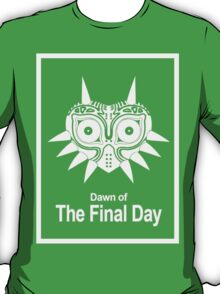 Majora The Final Day White Version T-Shirt