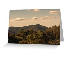View from Mount Glorious near Brisbane, Queensland. Greeting Card