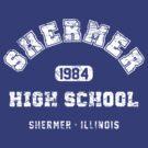 Shermer High school 1984 (worn look) by KRDesign