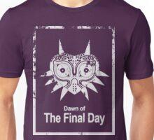Majora The Final Day Dark White Version (Worn look) Unisex T-Shirt