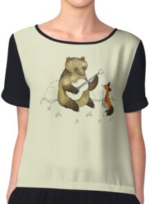 Bear & Fox Chiffon Top