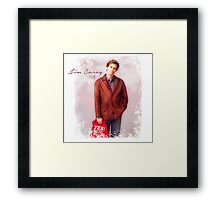 Jim Carrey Fan Framed Print