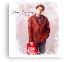 Jim Carrey Fan Canvas Print