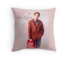 Jim Carrey Fan Throw Pillow
