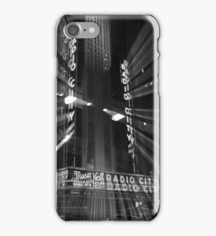 Radio City Music Hall iPhone Case/Skin