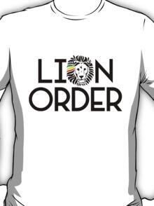 Lion Order VRT BLK T-Shirt