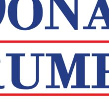 Donald Trump 16 Make America Great Again! Sticker