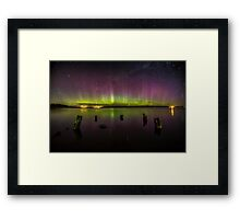 Aurora Australis - New Zealand Framed Print