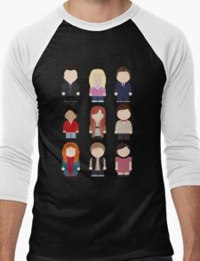 Doctor Who T-shirt Men's Baseball ¾ T-Shirt