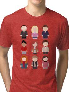 Doctor Who T-shirt Tri-blend T-Shirt