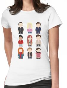 Doctor Who T-shirt Womens Fitted T-Shirt