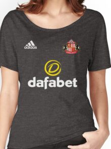 Premier League football - Sunderland A.F.C. Women's Relaxed Fit T-Shirt