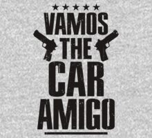 GTA V Vamos The Car, Amigo Grand Theft Auto Guns T-Shirt