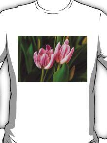 2 PINK TULIPS T-Shirt
