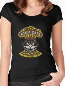 Atomic Cat Fallout 4 Women's Fitted Scoop T-Shirt