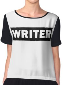 Writer Chiffon Top