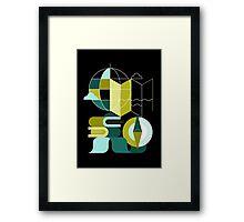 Geography Framed Print